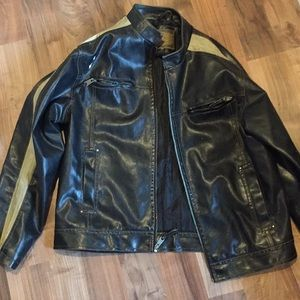Men's Pleather Jacket